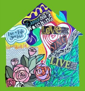 A Virtual Healing Arts Workshop - LGBTQ Art Therapy Event: Home Is Where the Heart Is