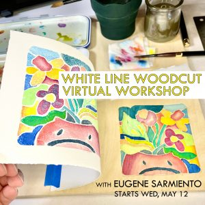 White-Line Woodcut Virtual Workshop