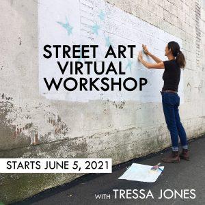 Street Art Virtual Workshop