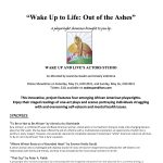 """""""Wake Up to Life: Out of the Ashes"""""""