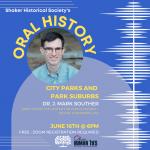 City Parks and Park Suburbs