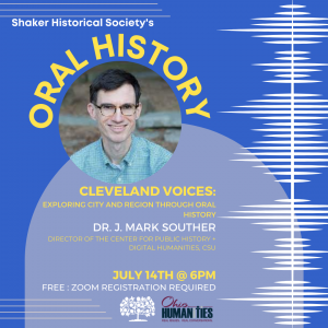 Cleveland Voices: Exploring City and Region through Oral History