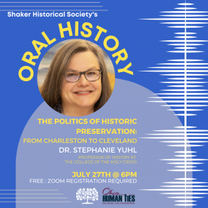 The Politics of Historic Preservation: From Charleston to Cleveland