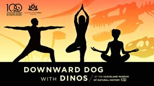 Downward Dog with Dinos
