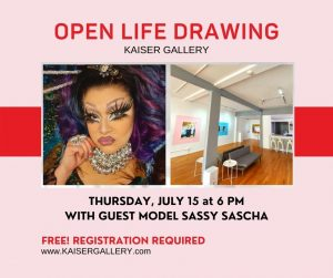 Open Life Drawing with Sassy Sascha