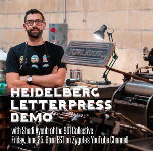 Letterpress Demo with Shadi Ayoub