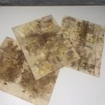 Natural Dyes on Paper