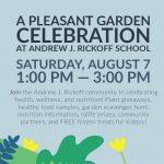 A Pleasant Garden Celebration at Andrew J. Rickoff School