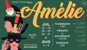 Mercury Theatre Company Presents My First Musical Performance of Amelie