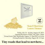 Virtual Artist Talk - Tiny roads that lead to nowhere