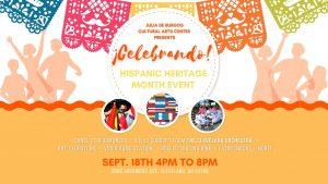 ¡Celebrando! Hispanic Heritage Month Event 2021