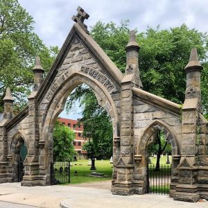 Under the Sycamores, A Secret Path Audio Experience in Cleveland's Historic Erie Street Cemetery