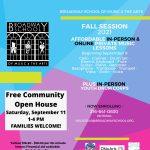 Fall Community Open House