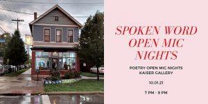 Spoken Word Poetry Open Mic
