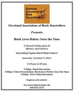 CABS Black Lives Matter: Seize the Time