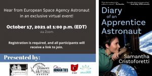 """""""Diary of an Apprentice Astronaut"""" Book Discussion..."""