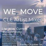WE MOVE Cleveland Artist Mixer