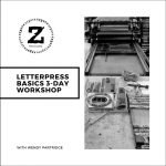 Letterpress Basics 3-Day Workshop