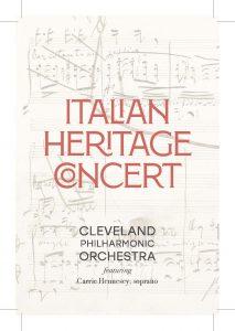 Italian Heritage Concert