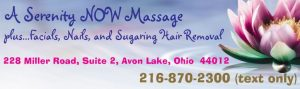 A Serenity NOW Massage